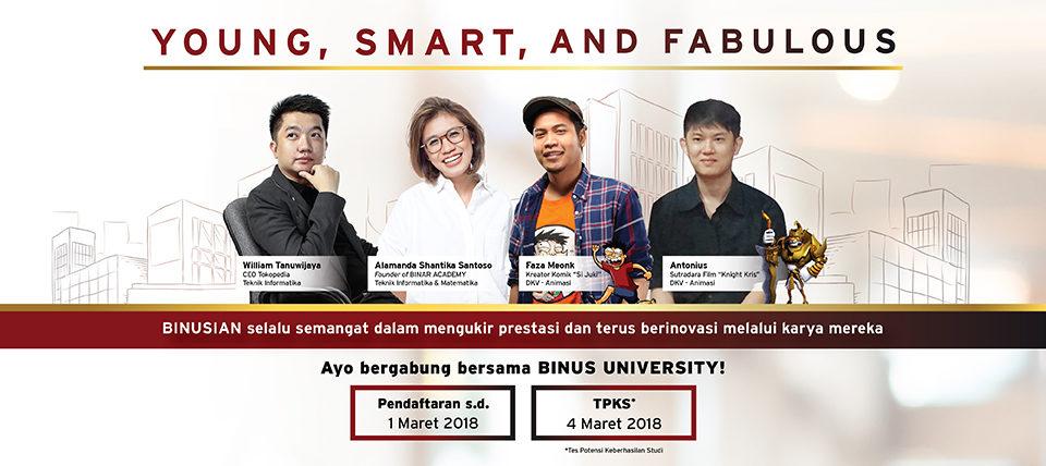 Info Pendaftaran Binus University