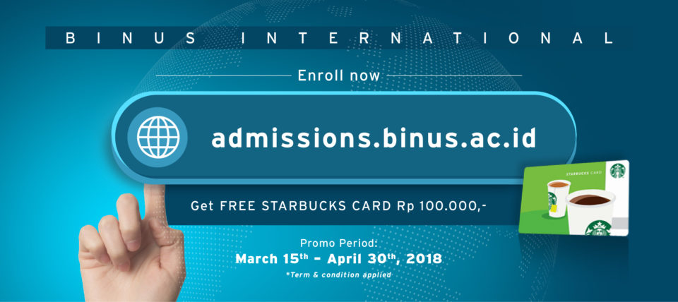 Join Binus International Now!