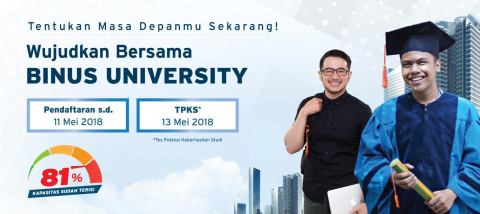 Binus University Open Registration