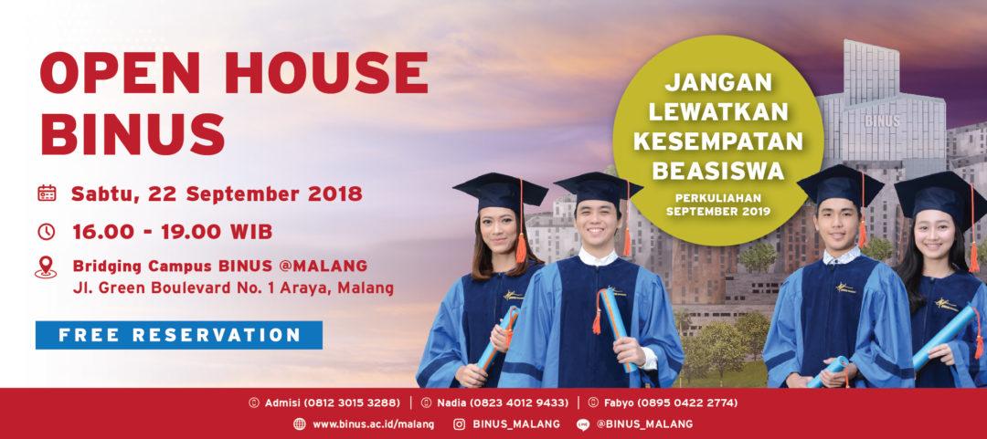 Open House BINUS @Malang