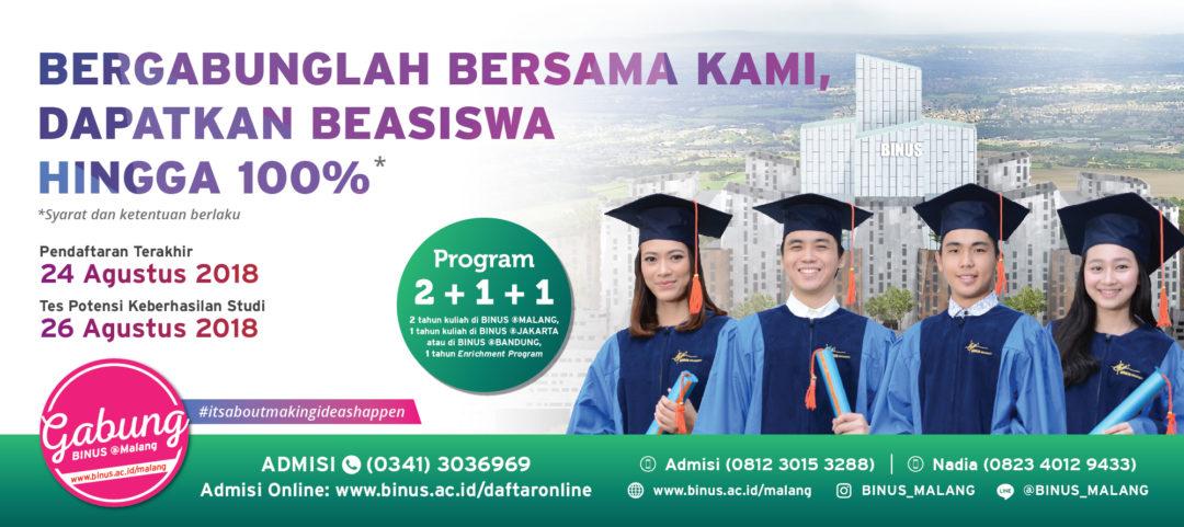 Binus @Bandung Open Registration