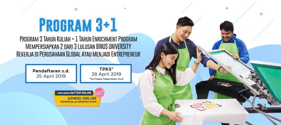 Test Masuk BINUS April 2019