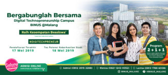 BINUS @Bandung TPKS 28 Maret 2019